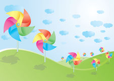 Pinwheel Foto de Stock Royalty Free