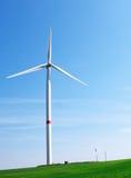 Pinwheel. A pinwheel producing environmental friendly energy Stock Images