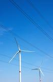 Pinwheel. A pinwheel producing environmental friendly energy Royalty Free Stock Image