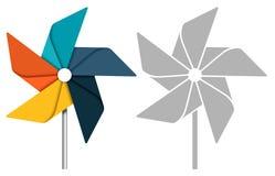pinwheel Royaltyfri Bild