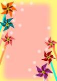 pinwheel Arkivfoto