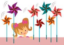 pinwheel Royaltyfri Fotografi