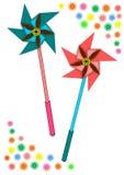 pinwheel Arkivfoton
