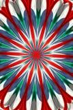 Pinwheel abstracto Fotografía de archivo libre de regalías