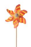 Pinwheel arancione Fotografia Stock Libera da Diritti