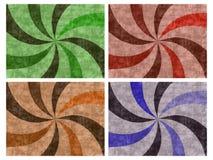 Pinwheel Background Set Stock Image