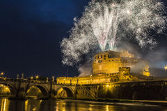 Pinwheel of Castel Sant'Angelo Stock Photos