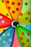 Pinwheel close up Royalty Free Stock Photography