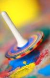 Pinwheel coloré d'enfants Photos stock