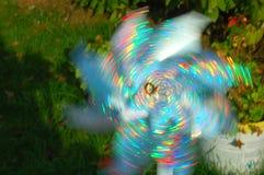Pinwheel. Colorful pinwheel on the move Royalty Free Stock Images