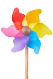 Pinwheel, colorful toy detail Stock Photos
