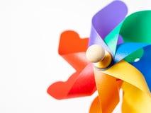 Pinwheel colorido fotos de stock
