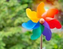 Pinwheel colorido imagens de stock royalty free
