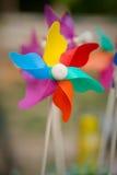 Pinwheel colorido Imagenes de archivo