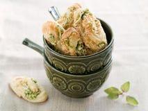 Pinwheel cookies stock image