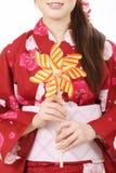 Pinwheel de jouet Photographie stock libre de droits