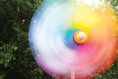 Pinwheel no movimento Imagens de Stock
