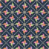 Pinwheel pattern Royalty Free Stock Image