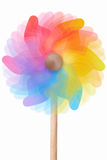 Pinwheel, rotating colorful toy Royalty Free Stock Photos