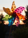 Pinwheel sunset outdoors Stock Photos