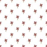 Pinwheel toy pattern Stock Image