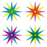 Pinwheels Lizenzfreie Stockbilder