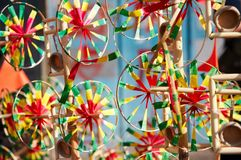 Pinwheels Royalty Free Stock Photography