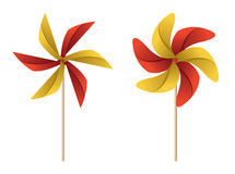 pinwheels Lizenzfreie Stockfotos