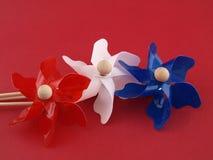 Pinwheels di luglio Fotografia Stock