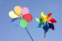pinwheels dwa Obraz Royalty Free