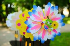 Pinwheels stock photos