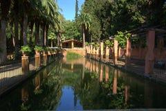 Pinya de Rosa Garden in Blanes, Stockbild