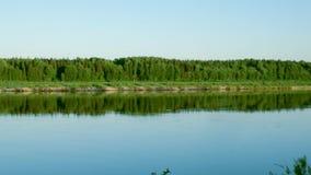 Pinyega flod av Arkhangelsk Royaltyfria Foton