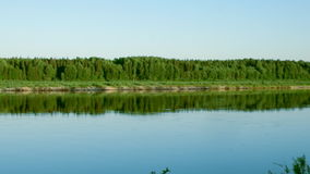 Pinyega River of Arkhangelsk Royalty Free Stock Photos