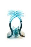 Pinza de pelo azul Imagen de archivo libre de regalías