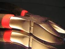 Pinze della trinciatrice di cavo immagini stock libere da diritti