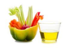 pinzimonio蔬菜verdura 免版税库存图片