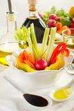 Pinzimonio vegetables Stock Photo