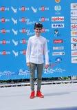 Pio Luigi Piscicelli al Giffoni Ekranowy festiwal 2016 Fotografia Royalty Free