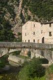 Piobbico (марты), историческая деревня Стоковое Фото