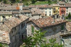 Piobbico (gränser) Royaltyfri Bild
