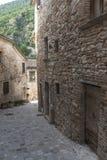 Piobbico (marsze), historyczna wioska Zdjęcia Royalty Free