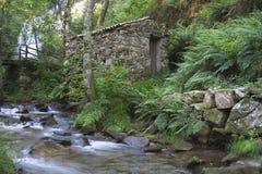 Piodao è un piccolo paesino di montagna molto vecchio, in Arganil, il Portogallo Immagine Stock