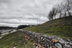 Piodao è un piccolo paesino di montagna molto vecchio, in Arganil, il Portogallo Fotografia Stock Libera da Diritti