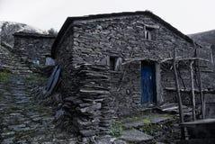 Piodao è un piccolo paesino di montagna molto vecchio, in Arganil, il Portogallo Immagini Stock