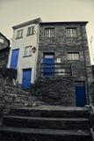 Piodao est un petit village de montagne très vieux, dans Arganil, le Portugal Photographie stock libre de droits