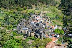 Piodao i estrela för bergserrada i Portugal royaltyfri bild