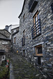 Piodao ist ein sehr altes kleines Bergdorf, in Arganil, Portugal Lizenzfreies Stockfoto