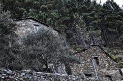 Piodao ist ein sehr altes kleines Bergdorf, in Arganil, Portugal Stockfoto