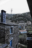 Piodao is a very old little mountain village,in Arganil,Portugal Royalty Free Stock Photos